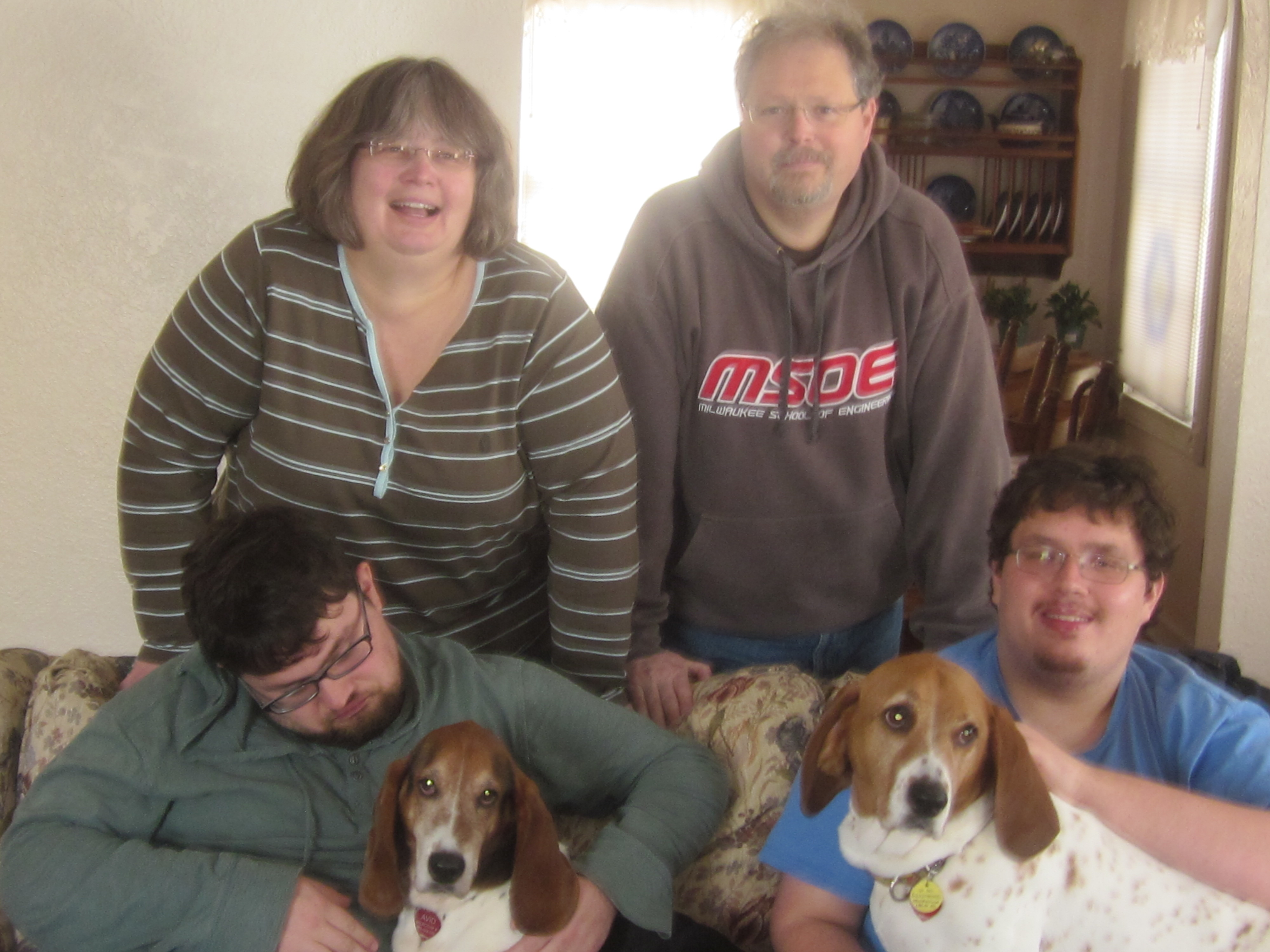 Otis with family 1532